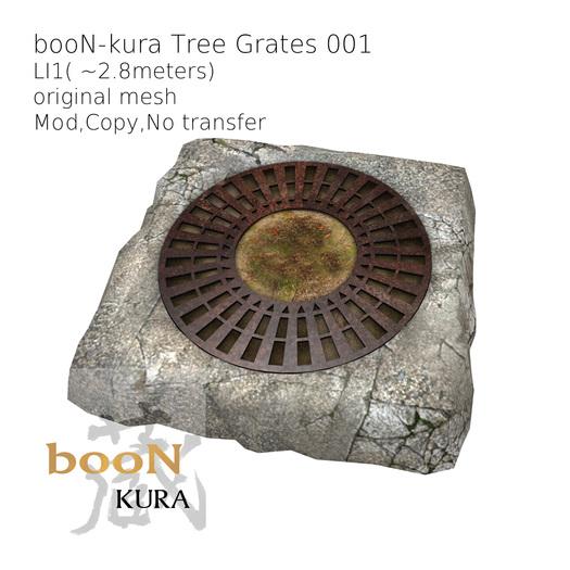 *booN-kura Tree Grates 001