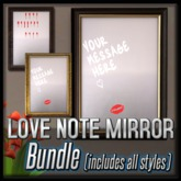 *The Valentine Love Note Mirror* (Write love notes in the mirror!)