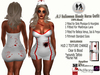 .:H.F Halloweed Nurse Blood Outfit (100% Mesh)