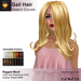 A&A Gail Hair Variety Colors Pack. Rigged mesh long womens hairstyle
