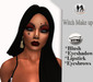 .:H.F Witch Makeup(Catwa Applier)