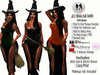.:H.F Halloweed  Witch Outfit  (100% Mesh)