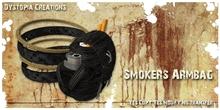 .dystopia. smokers armbag