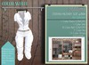 Addams Military Mesh Outfit -Maitreya,Belleza,Tmp,Slink,Womens Suit Stefani- White