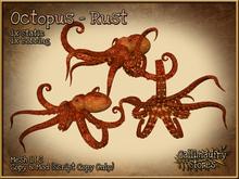 *GALLI* - MESH - Octopus Rust - 1x Static & 1x Bobbing - LI 2 Each