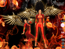 Sweet Temptations :: Inferno Halloween Outfit (Maitreya clothes, Physique, Hourglass, Venus, Isis, Freya, #TMP)