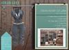 Addams Military Mesh Outfit -Maitreya,Belleza,Tmp,Slink,Womens Suit Stefani- Grey