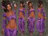 Genie outfit purple   mesh bodies