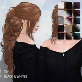 TRUTH HAIR Xia -  black & whites