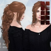 TRUTH HAIR - Xia (Rigged Mesh Hair) -  reds