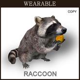[TomatoPark] Wearable Raccoon Mesh