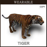 [TomatoPark] Wearable Tiger Mesh