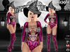 Vaxer :: Pink Witch Halloween 2016 Outfit (Maitreya clothes, Physique, Hourglass, Belleza Venus, Isis, Freya)
