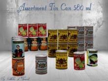 *CdT* Assortment tin can 580ml