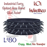 Industrial Furry- Spiked Arm Band - BlueAshe