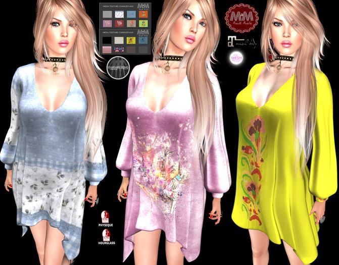 M&M-NICOLE DRESS HUD-O