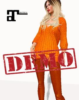 DEMO XK Loose Sweater with Leggings
