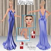 """007 Spectre"" Blue Gown - Fashion Dream"