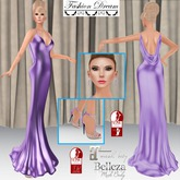 """007 Spectre"" Purple Gown - Fashion Dream"