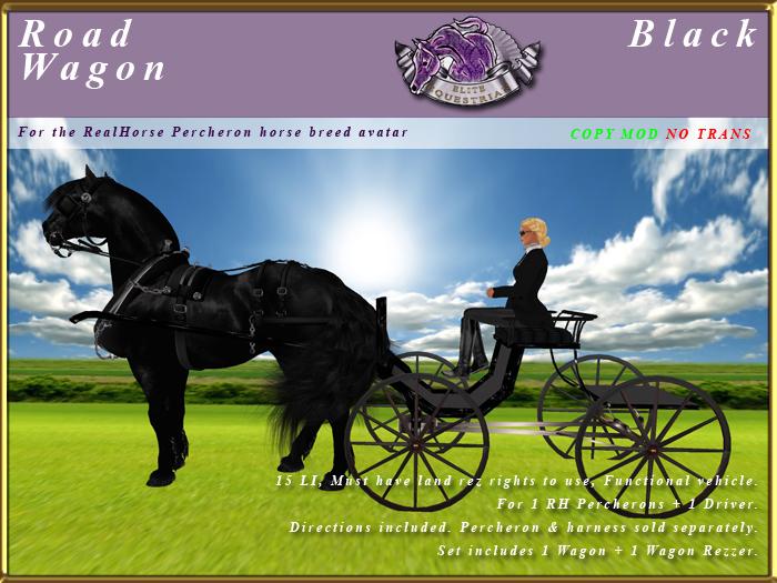 *E* Road Wagon [RH Percheron] BOXED