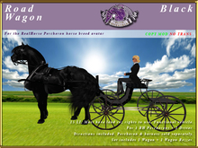 *E* Road Wagon [RH Percheron] BOXED