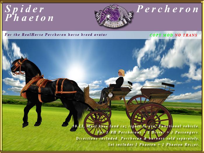 *E* Spider Phaeton [RH Percheron] BOXED