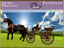 *E* Spider Phaeton [RH Percheron] BOXED