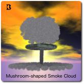Blackburns Mushroom-shaped Smoke Cloud
