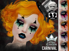 ::White Queen:: - carnival eyeshadow - catwa