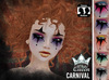 ::White Queen:: - carnival eyeshadow