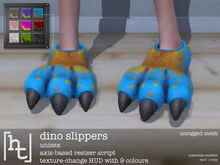 [ht:apparel] dino slippers