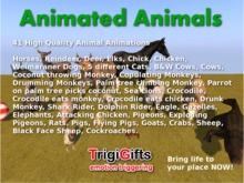 Animated Animals (TrigiGifts)