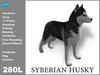 Syberian husky box
