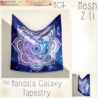 ~ASW~ The Galaxy Mandala Tapestry