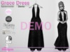Grace dress spiderwebs demo