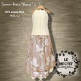 Summer Dress *fleuret*2 brown