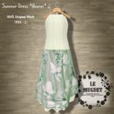 Summer Dress *fleuret*2 green