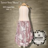 Summer Dress *fleuret*2 pink