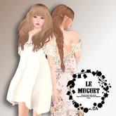 Floral Lace Dress GACHA *Le muguet* DEMO