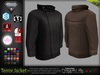 Terror Male Jacket MESH  - Slink, Adam, Signature, Aesthetic, TMP - HUD -  DreamLife  FashionNatic