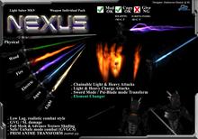 "*D&D* ZS9- Light Saber MK9 ""Nexus"" (Boxed)"