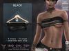 **RE** Bad Girl Top - Black - Maitreya - SLink Physique - Hourglass - Belleza
