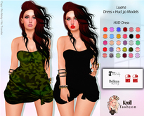 ::KF - Luana FitMesh Dress  + HUD 30 Models ::