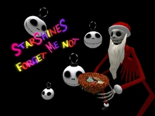 For Get Me Not  skellington jack santa clause giver 5 prim