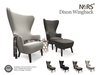 N4RS Dixon Wingback - PG - A beautiful feauteuil with 43 animations and texture changer