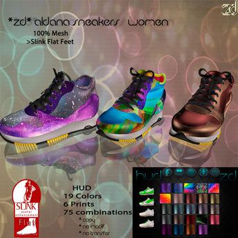 *ZD* Aldana Sneakers Slink Women