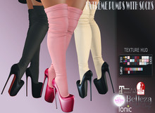 *IS* Extreme Pumps with Socks HUD Fatpack //BIG SALE