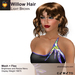 A&A Willow Hair Light Brown. Medium womens mesh and flexi hairstyle. FUNCTIONAL DEMO