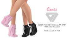 ILLI - [SLink,MeshProject,Belleza,Maitreya] Connie Sneaker Wedges (HUD Driven) - PROMO