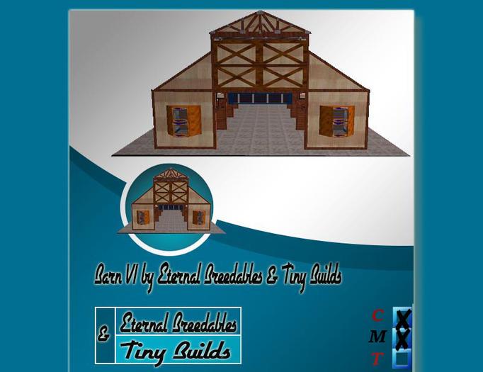 Barn V1 by Eternal Breedables & Tiny Builds